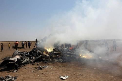 Siria, abbattuto elicottero russo 5