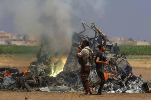 Siria, abbattuto elicottero russo 4