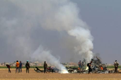 Siria, abbattuto elicottero russo 8