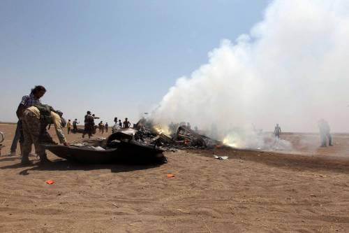 Siria, abbattuto elicottero russo 7
