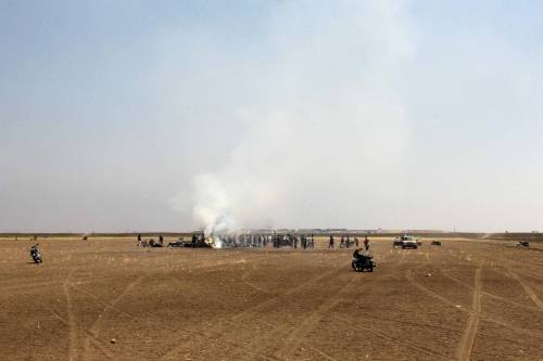 Siria, abbattuto elicottero russo 9