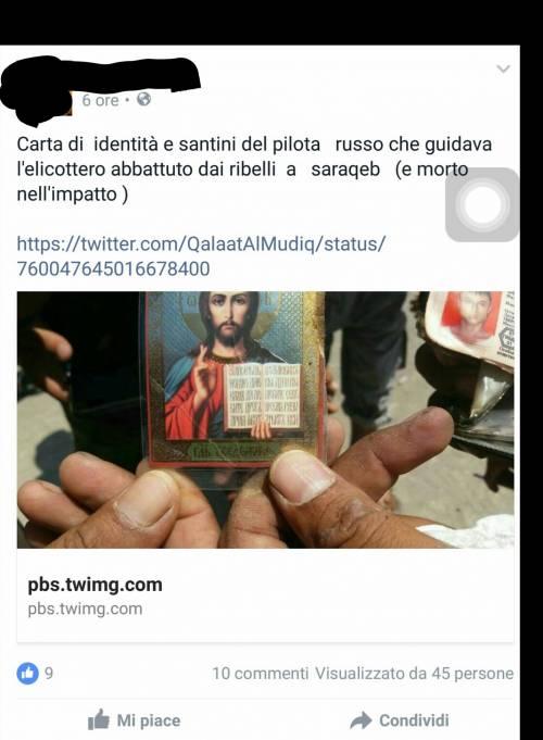 Quei fan italiani dei ribelli siriani che festeggiano la morte dei piloti russi 4