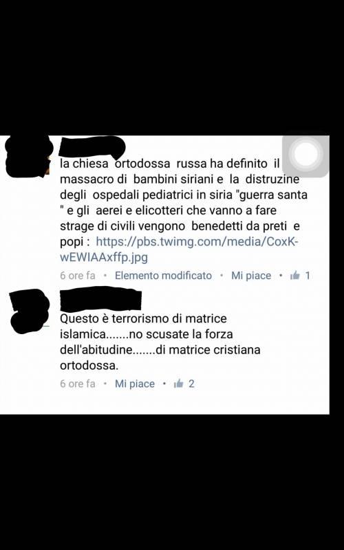 Quei fan italiani dei ribelli siriani che festeggiano la morte dei piloti russi 7