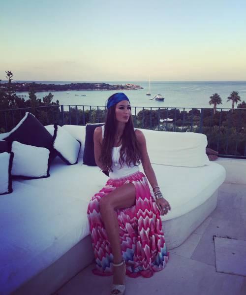 Elisabetta Gregoraci, topless da urlo in Costa Smeralda 8