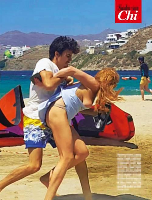 Lindsay Lohan aggredita in spiaggia dall'ex fidanzato 3