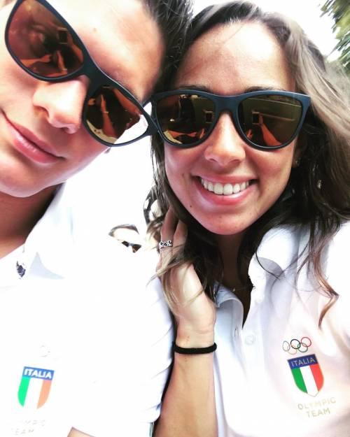 Due cuori e un'Olimpiade: gli amori azzurri a Rio 15