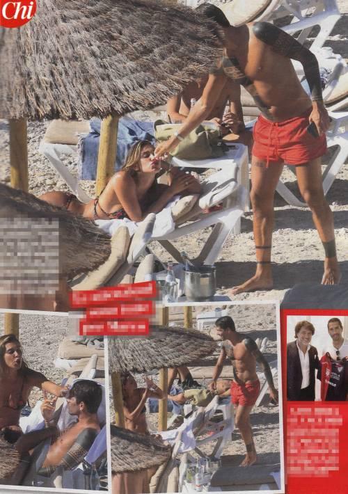Belén e Borriello, baci e carezze a Ibiza 2