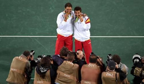 Rio 2016, l'Italia del tennis è out. Nadal vince l'oro ed entra nella storia