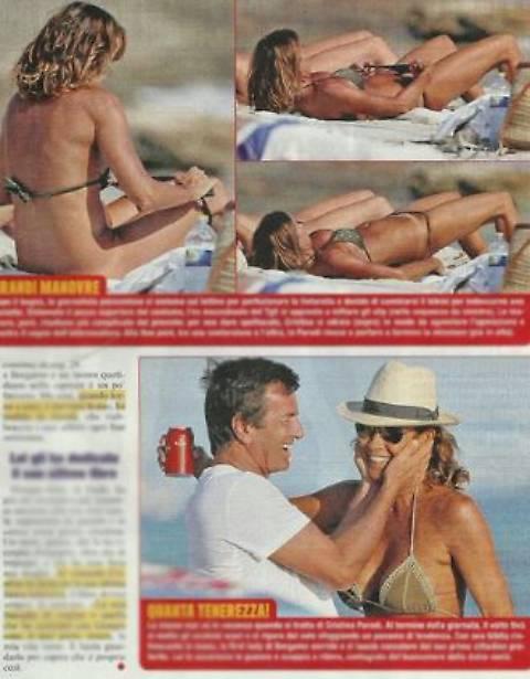 Incidente sexy per Cristina Parodi 5