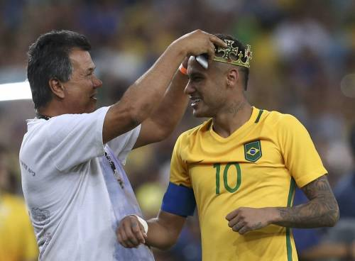 Rio, la gioia verdeoro per l'oro nel calcio 10