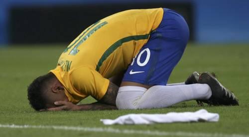 Rio, la gioia verdeoro per l'oro nel calcio 8
