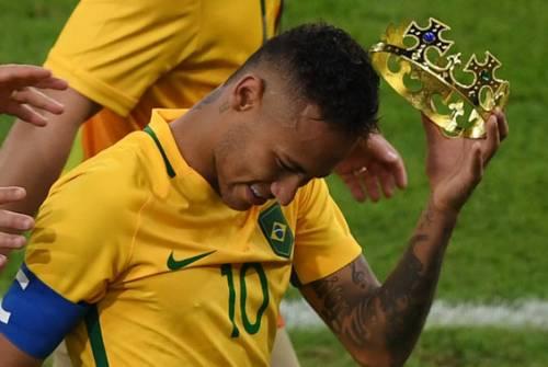 Rio, la gioia verdeoro per l'oro nel calcio 11