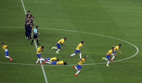 Rio, la gioia verdeoro per l'oro nel calcio 3
