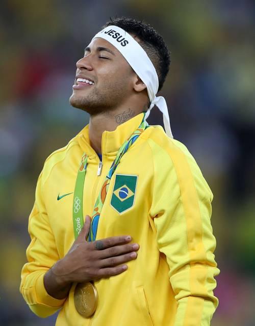 Rio, la gioia verdeoro per l'oro nel calcio 18