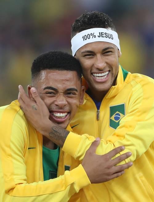 Rio, la gioia verdeoro per l'oro nel calcio 20