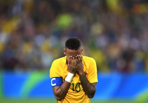 Rio, la gioia verdeoro per l'oro nel calcio 6