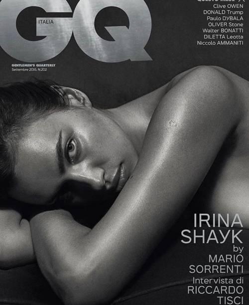 Irina Shayk nuda per GQ di settembre 3