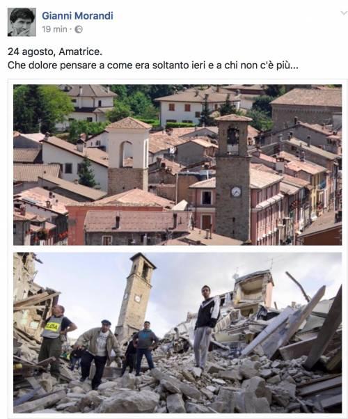Terremoto e vip, le reazioni social 3