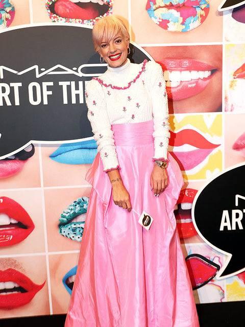 Lily Allen e il terremoto: foto 5