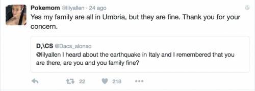 Lily Allen e il terremoto: foto 14