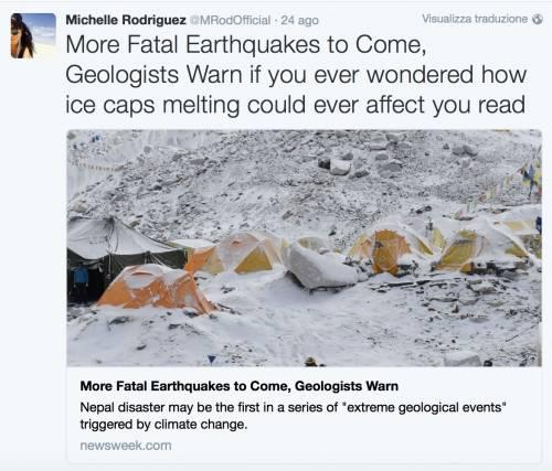 Terremoto, come hanno reagito le star internazionali 9