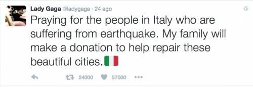 Terremoto, come hanno reagito le star internazionali 21