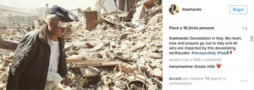 Terremoto, come hanno reagito le star internazionali 3
