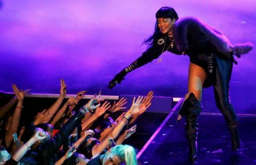 MTV VMA 2016: Drake e Rihanna, le immagini 12