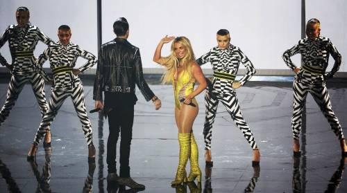 Britney Spears sexy agli MTV VMA 9