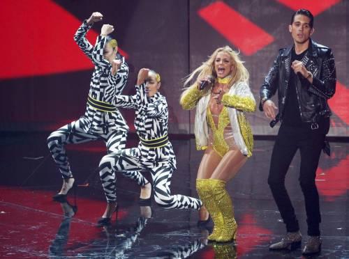 Britney Spears sexy agli MTV VMA 13