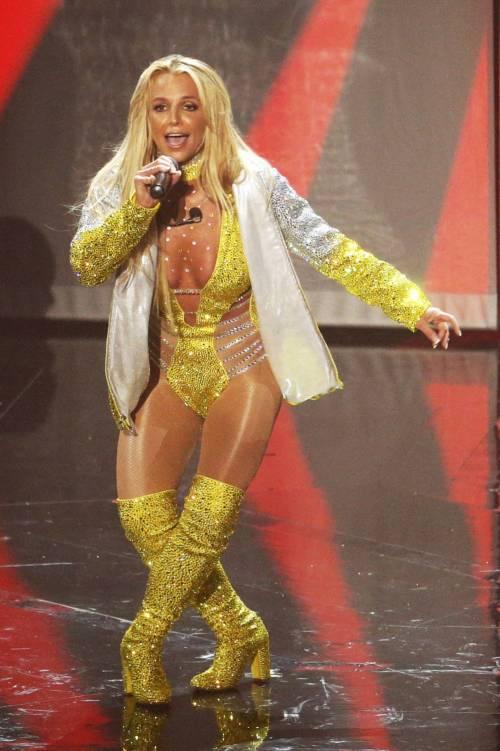 Britney Spears sexy agli MTV VMA 15