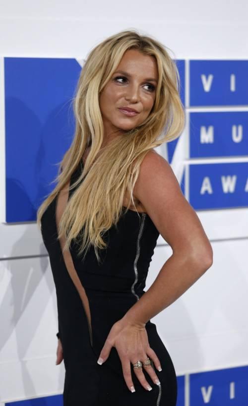 Britney Spears sexy agli MTV VMA 17