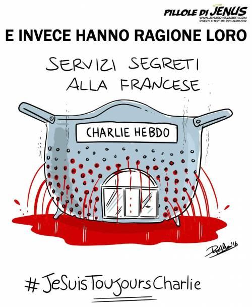 Charlie Hebdo, la vignetta che irride i francesi