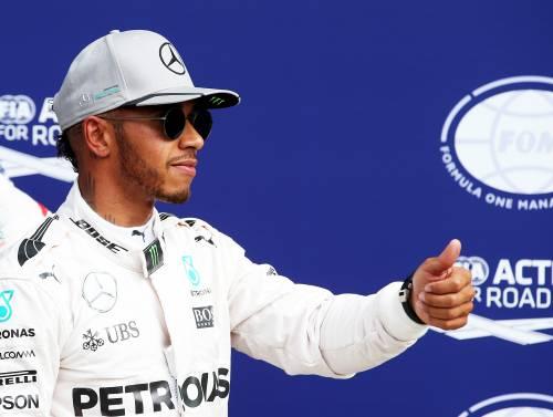 Gp Abu Dhabi, Hamilton parte in pole position