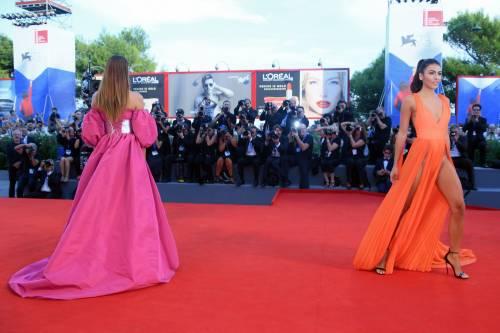 Dayane Mello e Giulia Salemi, spacco profondo a Venezia 9