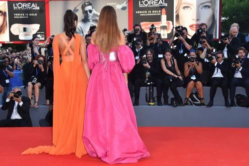 Dayane Mello e Giulia Salemi, spacco profondo a Venezia 14