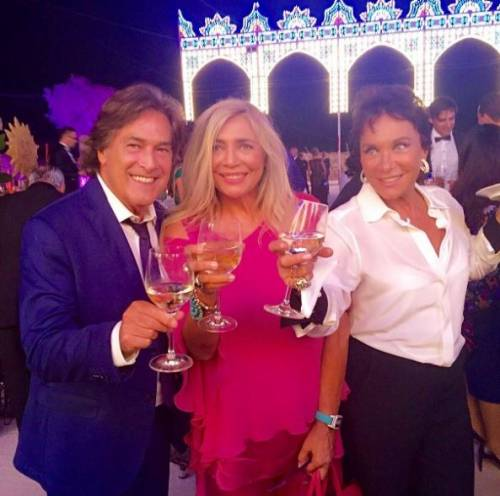 Mara Venier alle nozze di Cristel Carrisi e Davor Luksic 4