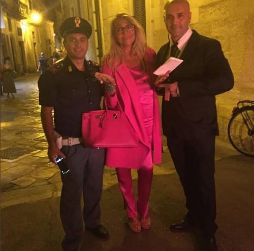 Mara Venier alle nozze di Cristel Carrisi e Davor Luksic 2
