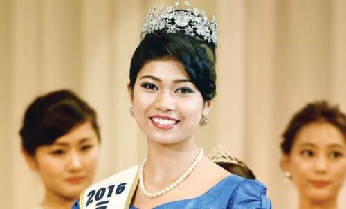 """Ondata di polemiche per la nuova Miss Giappone: """"È di razza mista"""""""