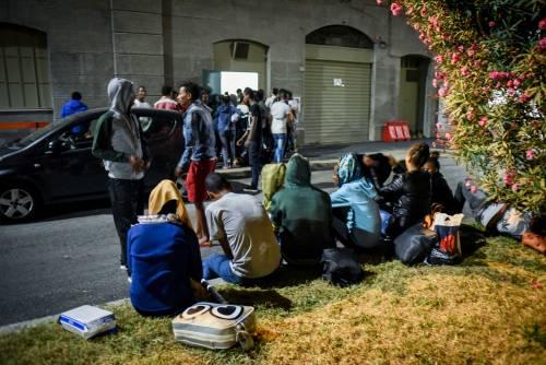 "I profughi si ribellano al grido di ""Jihad, Jihad"""