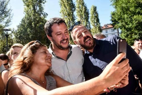 """Salvini freddo con Parisi: """"Io parlo con Berlusconi"""""""