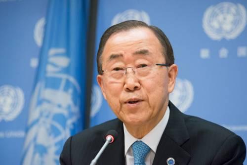 """Ban Ki-Moon contro Assad: """"Nessuno ha ucciso più di lui"""""""