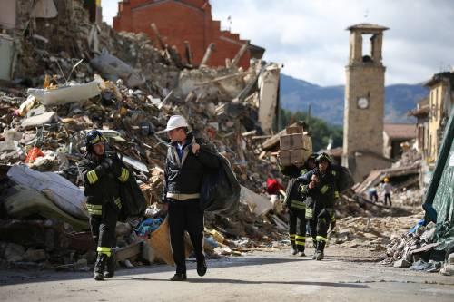 Il terremoto ad Amatrice è un affare per Pd e coop
