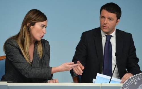 Renzi tiene sotto scacco 5S-Pd. E ora vuole la Boschi all'Economia