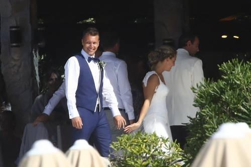 Tania Cagnotto e Stefano Parolin sposi all'Isola d'Elba