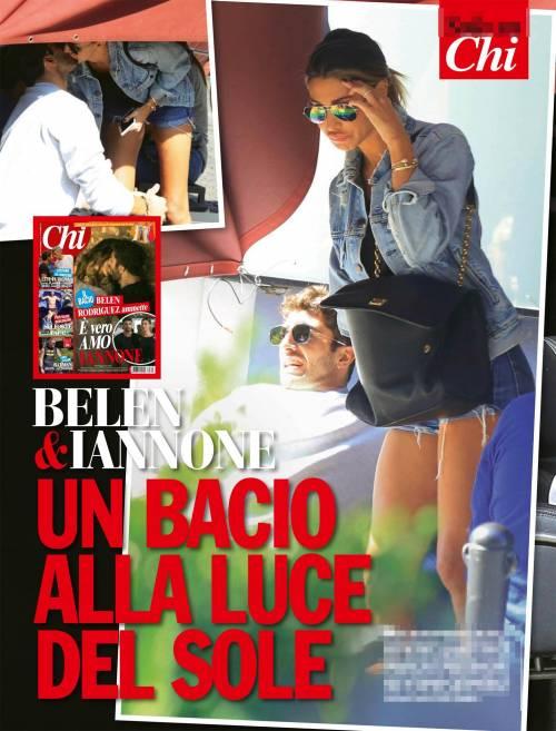 Belen Rodriguez, effusioni con Andrea Iannone 3