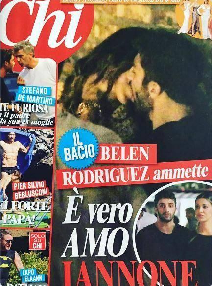 Belen Rodriguez, effusioni con Andrea Iannone 2