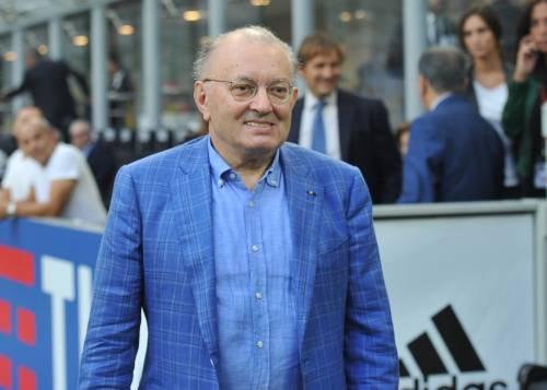 """Squinzi: """"Allegri mi dice ancora grazie per averlo fatto esonerare dal Milan"""""""