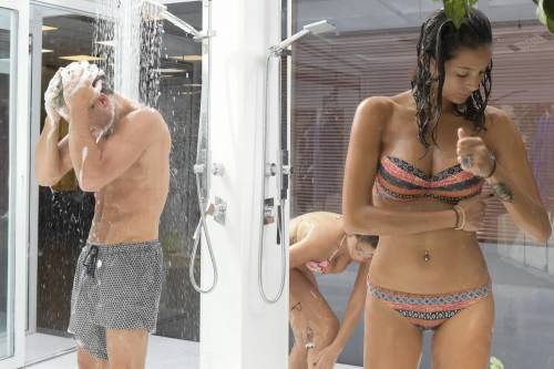 Grande Fratello Vip, docce e altri momenti sexy 2