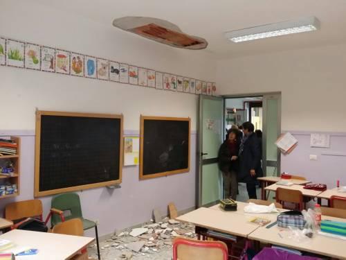 Torino, crollo a scuola 9
